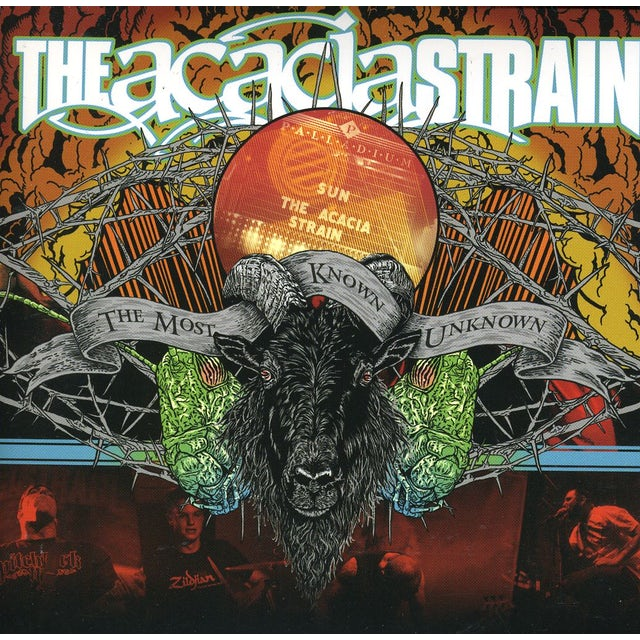 Acacia Strain MOST KNOWN UNKNOWN: LIVE CD