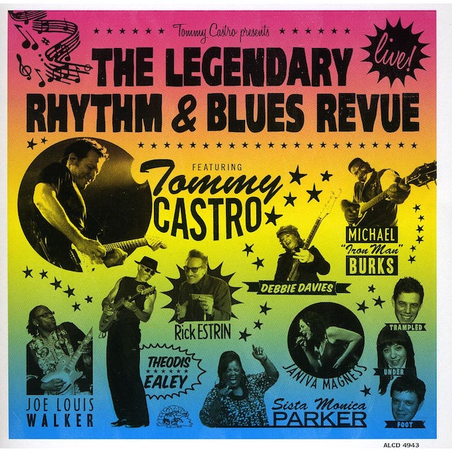 Tommy Castro PRESENTS THE LEGENDARY RHYTHM & BLUES REVUE: LIVE CD