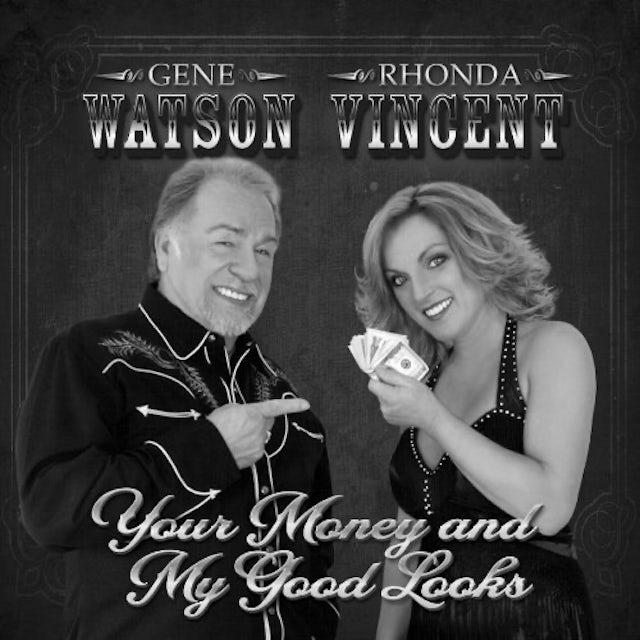Gene Watson / Rhonda Vincent YOUR MONEY & MY GOOD LOOKS Vinyl Record
