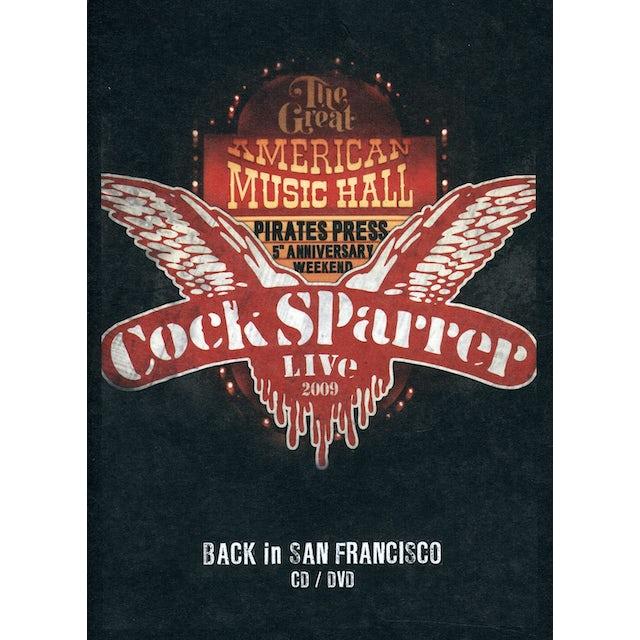 Cock Sparrer BACK IN SF 2009 CD