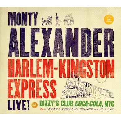 Monty Alexander HARLEM-KINGSTON EXPRESS LIVE CD