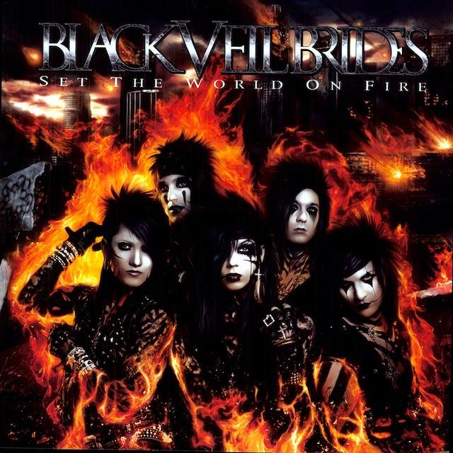 Black Veil Brides SET THE WORLD ON FIRE (Vinyl)