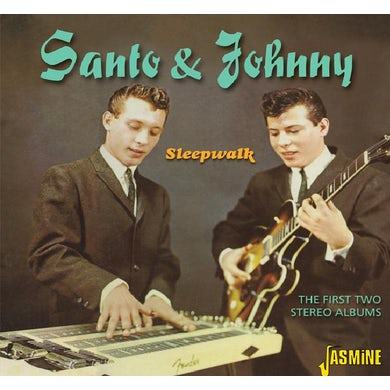 Santo & Johnny FIRST TWO STEREO ALBUMS CD