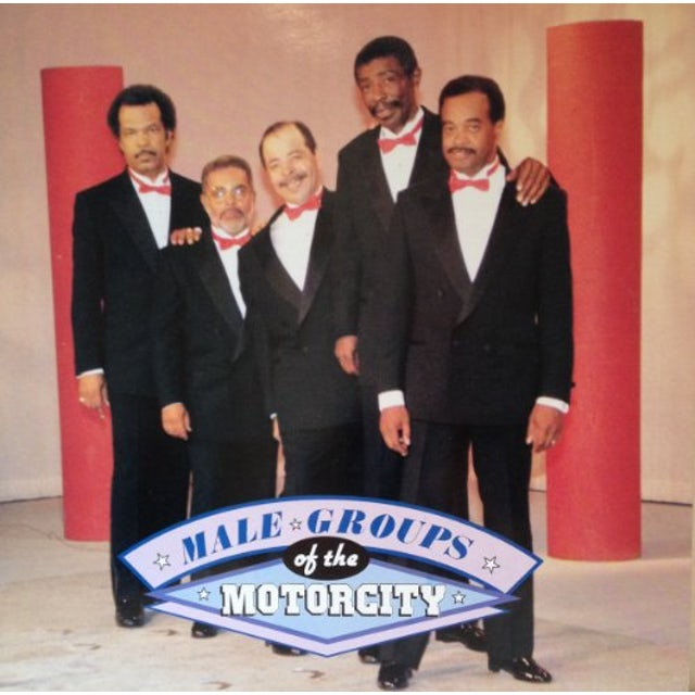 Male Groups Of The Motorcity / Various Vinyl Record