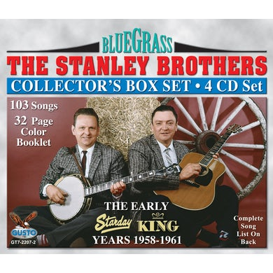 Stanley Brothers EARLY YEARS 1958-1961 CD