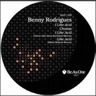 Benny Rodrigues I LIKE ACID Vinyl Record