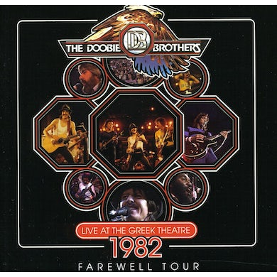 Doobie Brothers LIVE AT THE GREEK THEATER 1982 CD