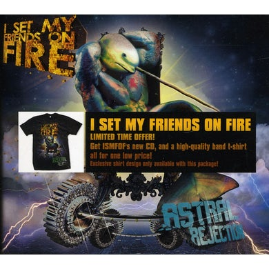 I Set My Friends On Fire ASTRAL REJECTION CD