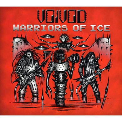 Voivod WARRIORS OF ICE CD