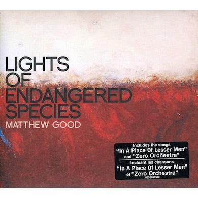 Matthew Good LIGHTS OF ENDANGERED SPECIES CD