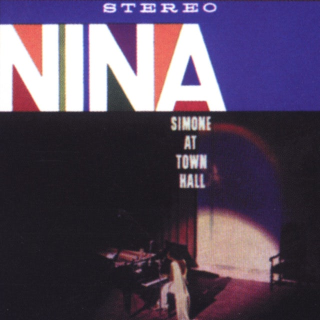 Nina Simone AT TOWN HALL (BONUS TRACK) Vinyl Record - 180 Gram Pressing