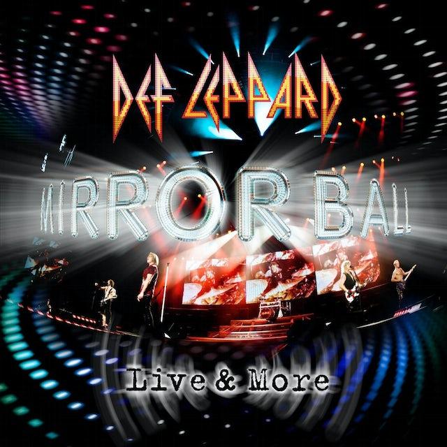 Def Leppard MIRROR BALL - LIVE & MORE Vinyl Record