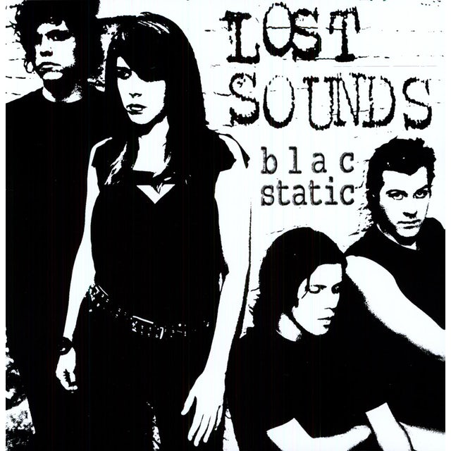 Lost Sounds BLAC STATIC Vinyl Record