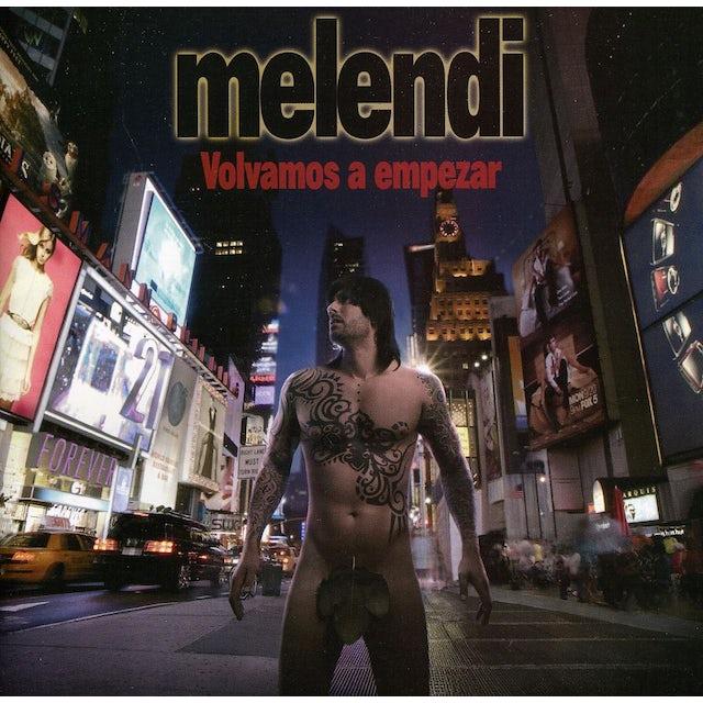 Melendi VOLVAMOS A EMPEZAR CD