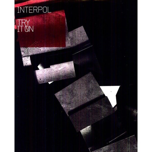 Interpol TRY IT ON REMIX Vinyl Record