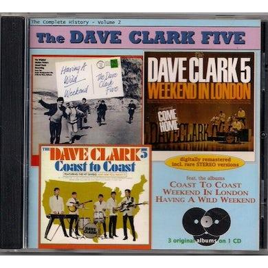 Dave Clark Five VOL 2: WILD WEEKEND - LONDON CD