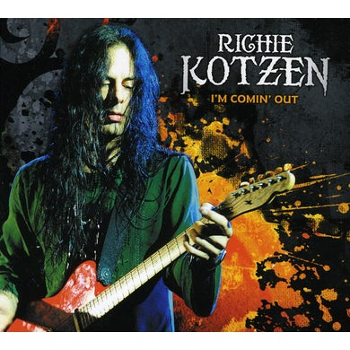 Richie Kotzen IM COMIN OUT CD