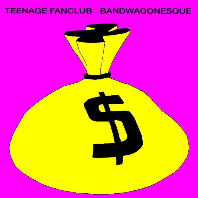 Teenage Fanclub BANDWAGONESQUE Vinyl Record