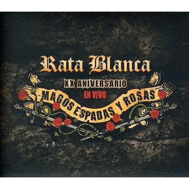 Rata Blanca XX ANIVERSARIO: MAGOS ESPADAS Y ROSAS CD