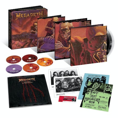Megadeth PEACE SELLS BUT WHO'S BUYING: 25TH ANNIVERSARY CD