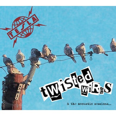 Tesla TWISTED WIRES CD