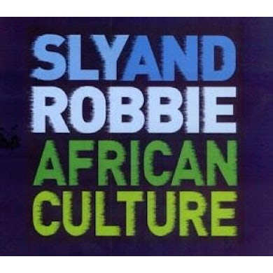 Sly & Robbie AFRICAN CULTURE CD
