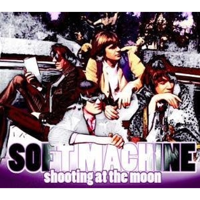 Soft Machine SHOOTING AT THE MOON CD