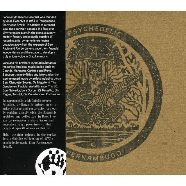 Psychedelic Pernambuco / Various CD
