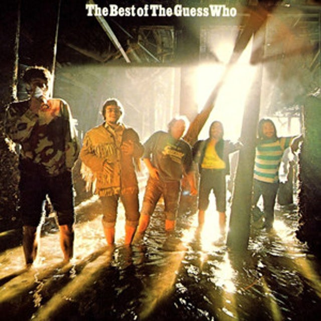 BEST OF THE GUESS WHO Vinyl Record