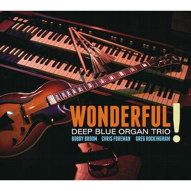 Deep Blue Organ Trio WONDERFUL CD