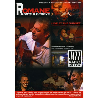 Romane ROOTS & GROOVE: LIVE AT THE SUNSET DVD