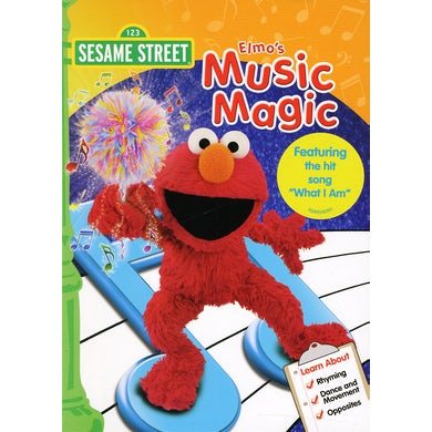 Sesame Street ELMO'S MUSIC MAGIC DVD