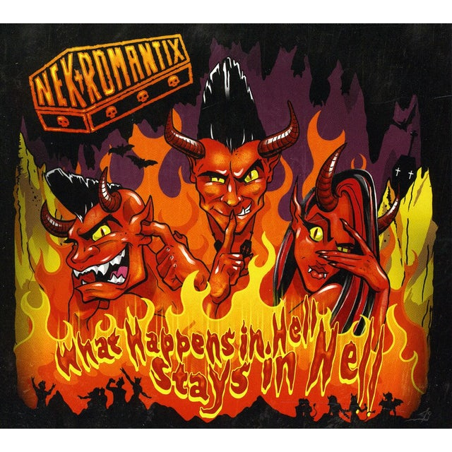 Nekromantix WHAT HAPPENS IN HELL STAYS IN HELL CD