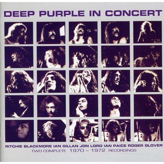 Deep Purple IN CONCERT 1970-1972 CD