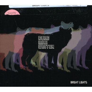 Dead Man Winter BRIGHT LIGHTS CD
