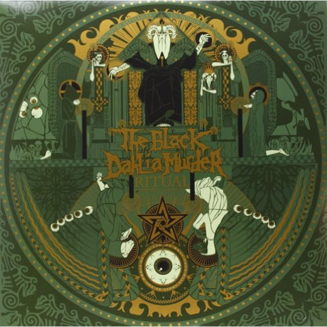 The Black Dahlia Murder RITUAL Vinyl Record