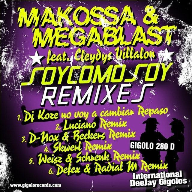 Makossa & Megablast SOY COMO SOY Vinyl Record