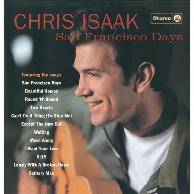 Chris Isaak SAN FRANCISCO DAYS CD