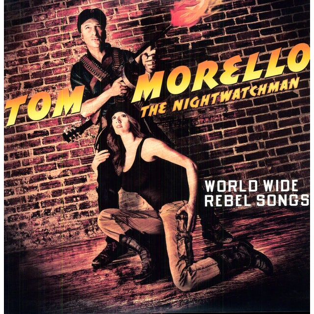 Tom Morello: the Nightwatchman WORLD WIDE REBEL SONGS Vinyl Record