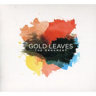 Gold Leaves ORNAMENT CD