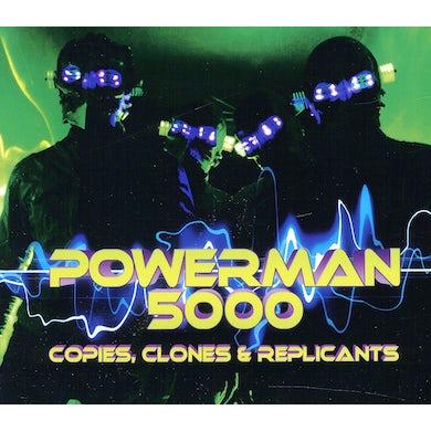 Powerman 5000 COPIES CLONES & REPLICANTS CD