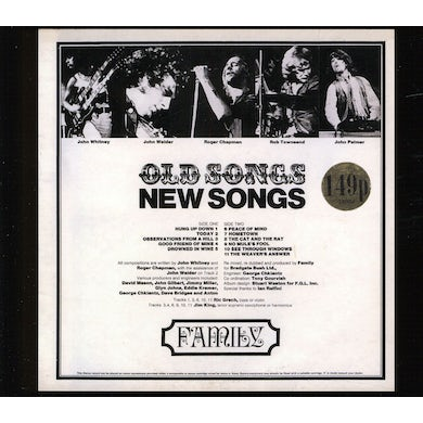 The Family OLD SONGS NEW SONGS CD
