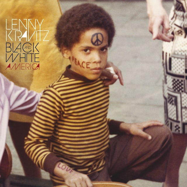 Lenny Kravitz BLACK & WHITE AMERICA CD