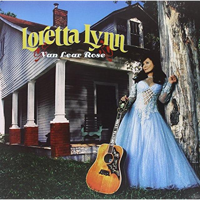 Loretta Lynn VAN LEAR ROSE Vinyl Record - 180 Gram Pressing
