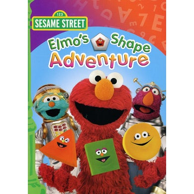 Sesame Street ELMO'S SHAPE ADVENTURE DVD