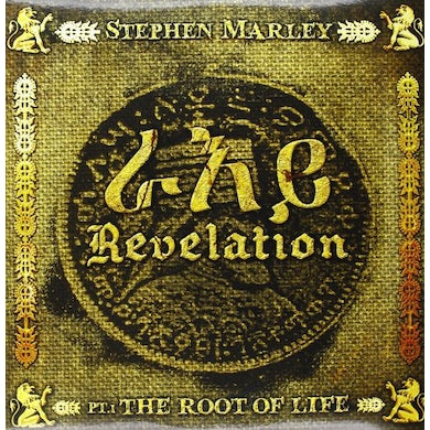 Stephen Marley REVELATION PT 1 ROOT OF LIFE Vinyl Record