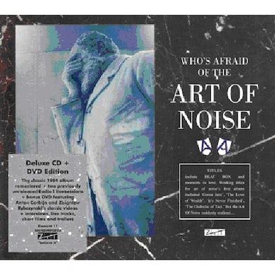 WHO'S AFRAID OF THE ART OF NOISE (BONUS DVD) CD - UK Release