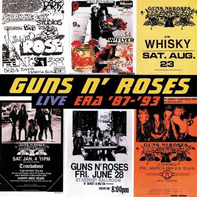 Guns N' Roses LIVE ERA 87 - 93 CD