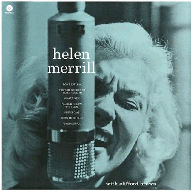 Helen Merrill WITH CLIFFORD BROWN Vinyl Record - 180 Gram Pressing