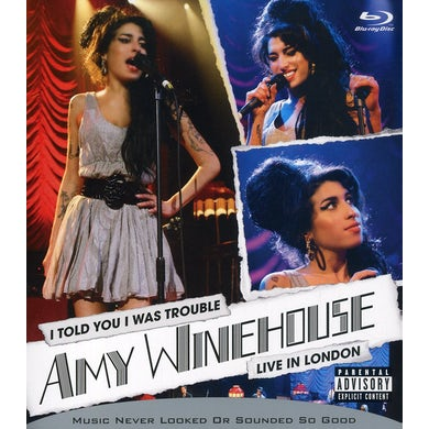 Amy Winehouse I TOLD YOU I WAS TROUBLE Blu-ray